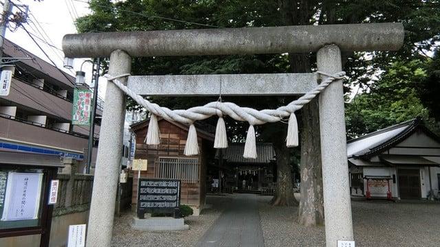 江古田の浅間神社