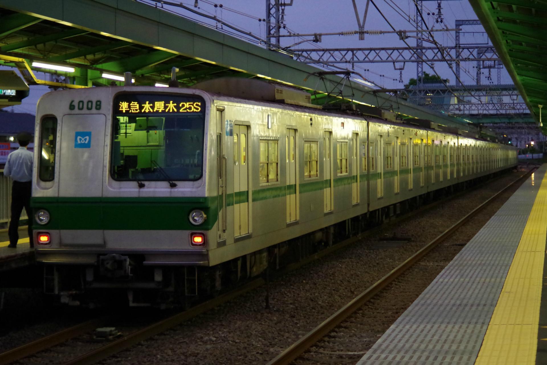 速報】東京メトロ6008Fが準急列...