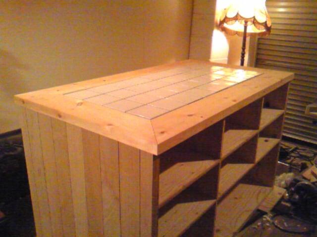 続キッチンの作業台 - Atelier ...