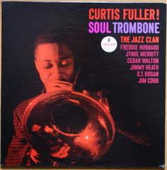 Curtis Fuller - Soul Trombone album cover