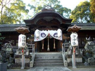 立木神社本殿