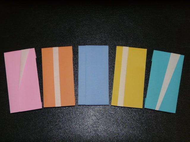 ハート 折り紙 折り紙 封筒の折り方 : matome.naver.jp