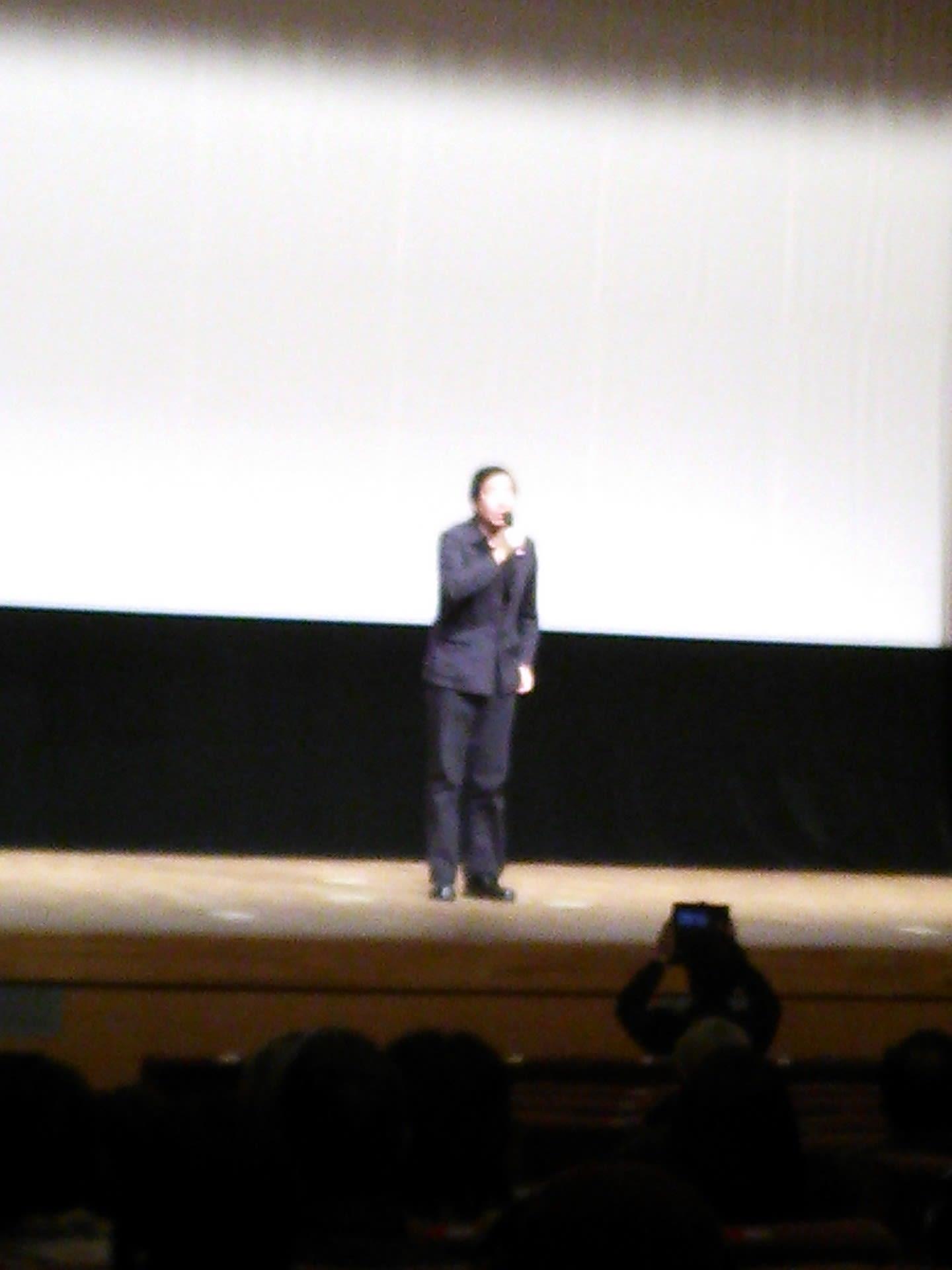 上映終了後には トークショー(短い時間でしたが) 撮影の裏話など、楽し...  大洗町議会議員