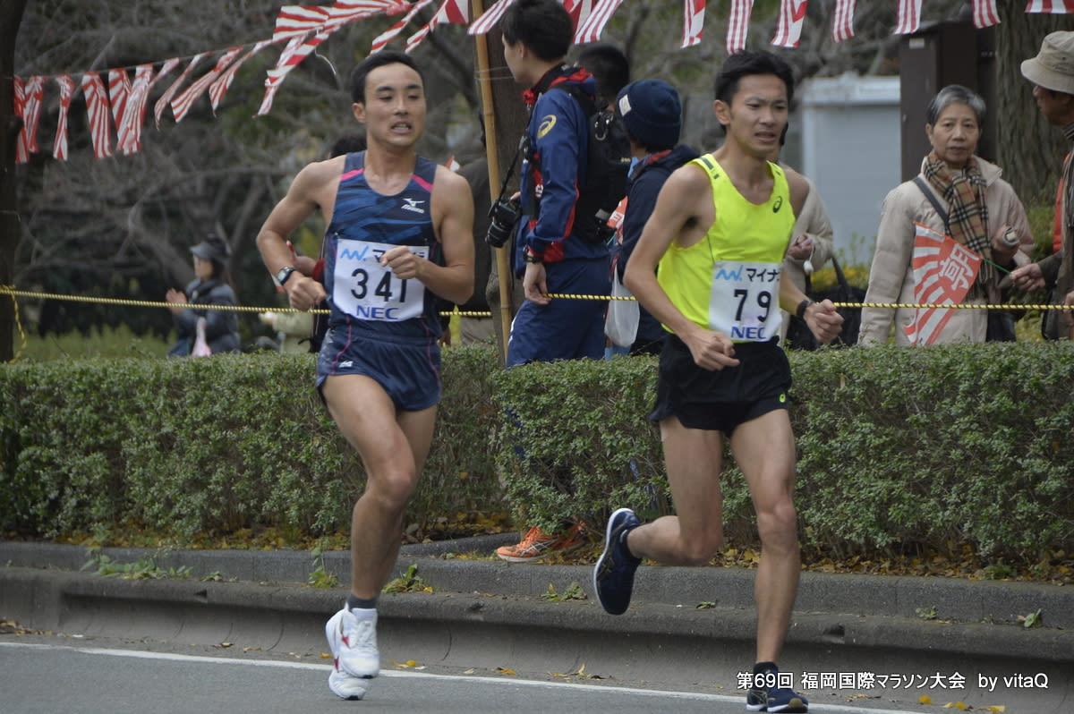 第 69 回 福岡国際マラソン 風見...