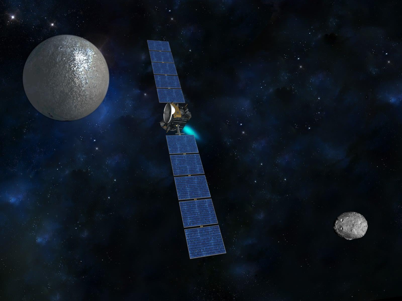 """探査機""""ドーン""""、準惑星ケレスに到着! - 宇宙のはなしと、ときどきツーリング ブログ ログイン"""