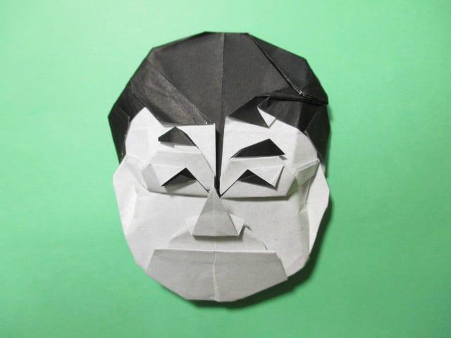 簡単 折り紙 折り紙 顔 : blog.goo.ne.jp
