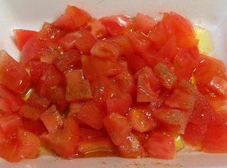 トマトのオイルマリネ