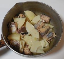 筍とサバの水煮