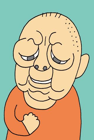 六平直政の似顔絵 俳優の六平直政さんの似顔絵を描いてみました。 似顔絵ブログランキングに...
