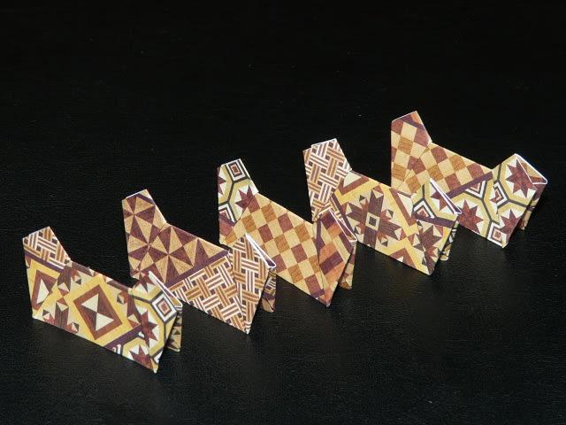 簡単 折り紙:折り紙 箸置き 折り方-divulgando.net