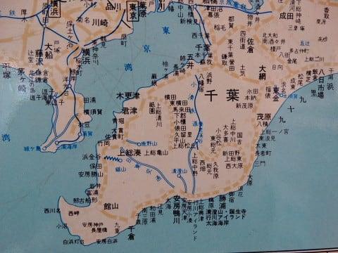 広尾線が健在だった頃の路線図 - 東京アイランド