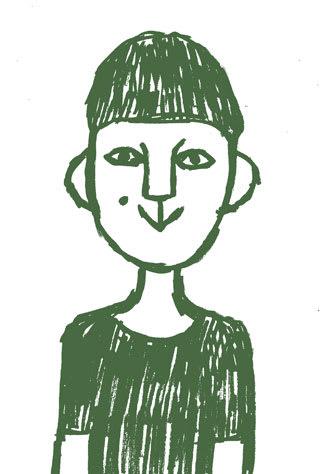 ミロコマチコの似顔絵