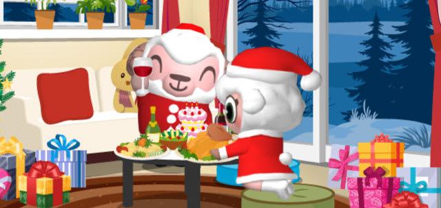 ひつじの執事室のクリスマスパーティー