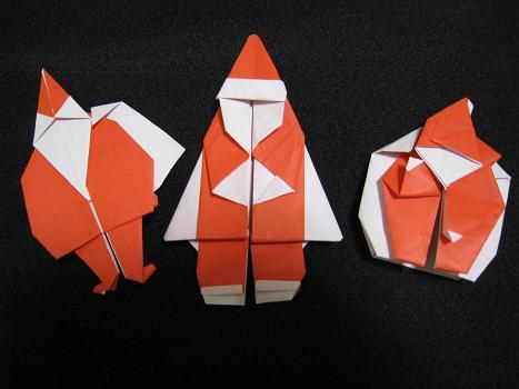 ハート 折り紙:クリスマスの折り紙 折り方-blog.goo.ne.jp