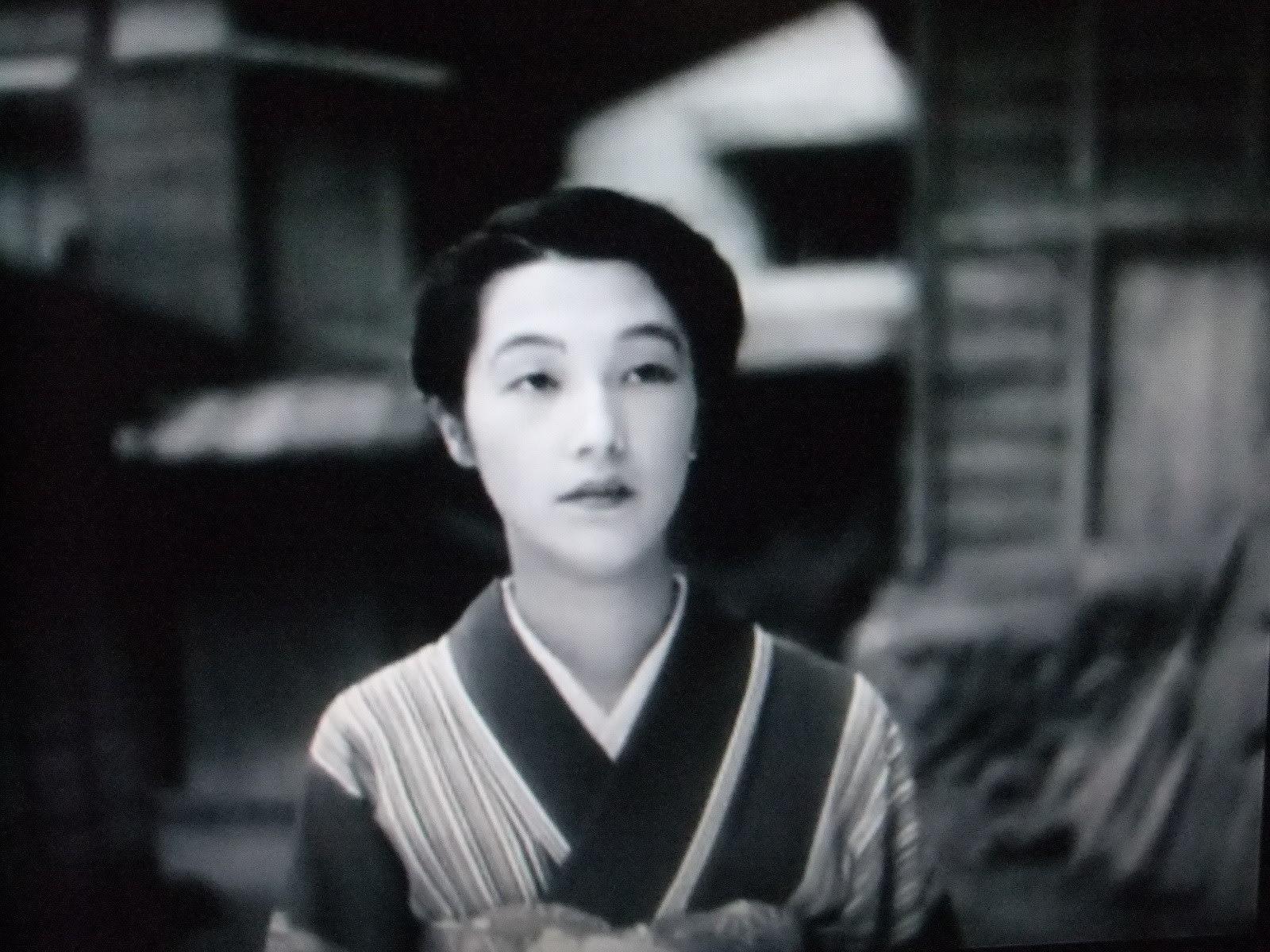 昔の良き時代の映画「按摩と女」...