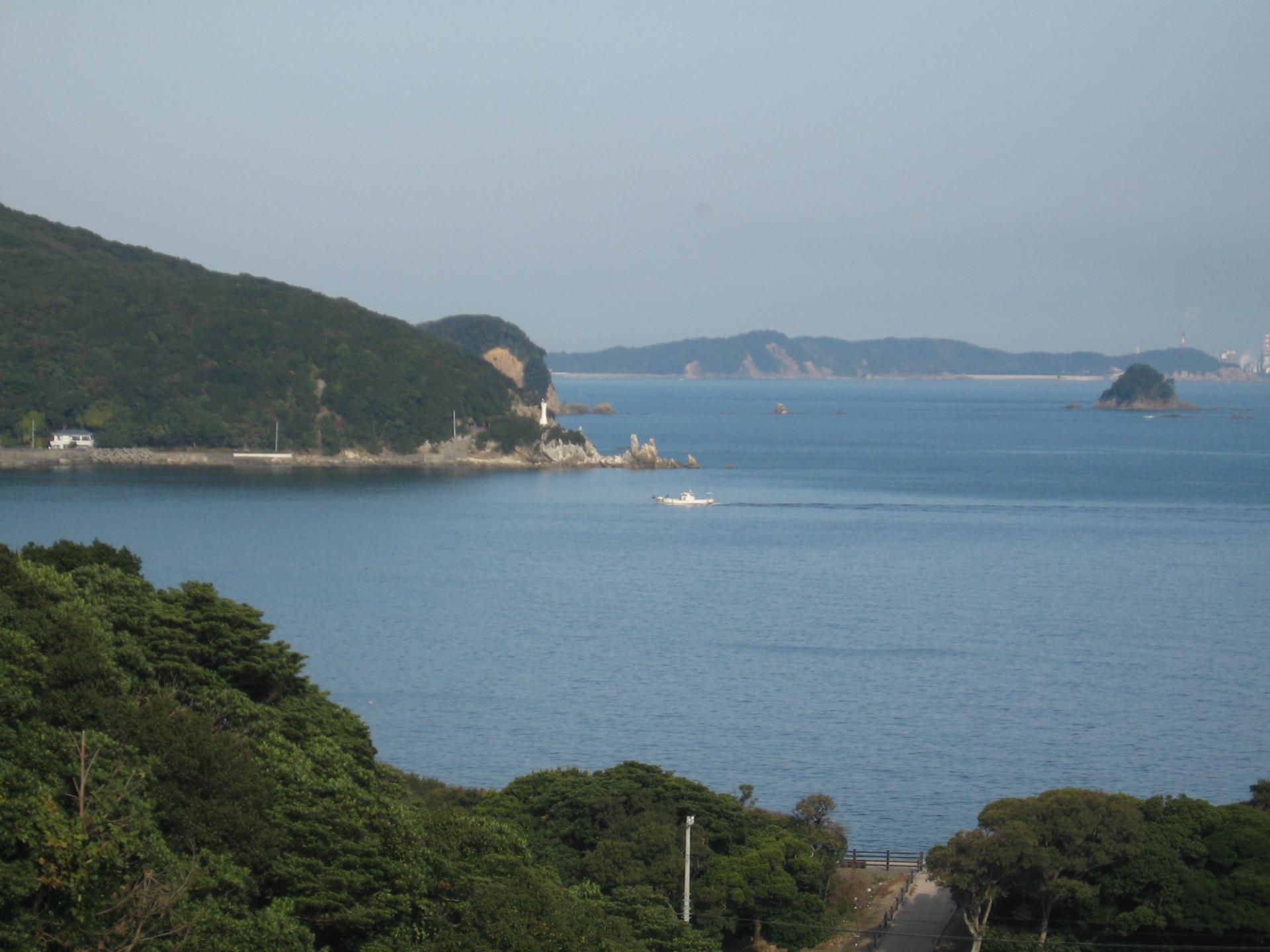 蒲生田岬と蒲生田温泉に行く - ...
