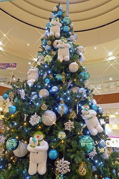【アリオ倉敷】今年のツリーはスノーマンだよ!