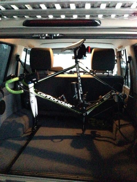 自転車の 自転車 車載 スタンド 自作 : HDマスターのなんちゃって ...