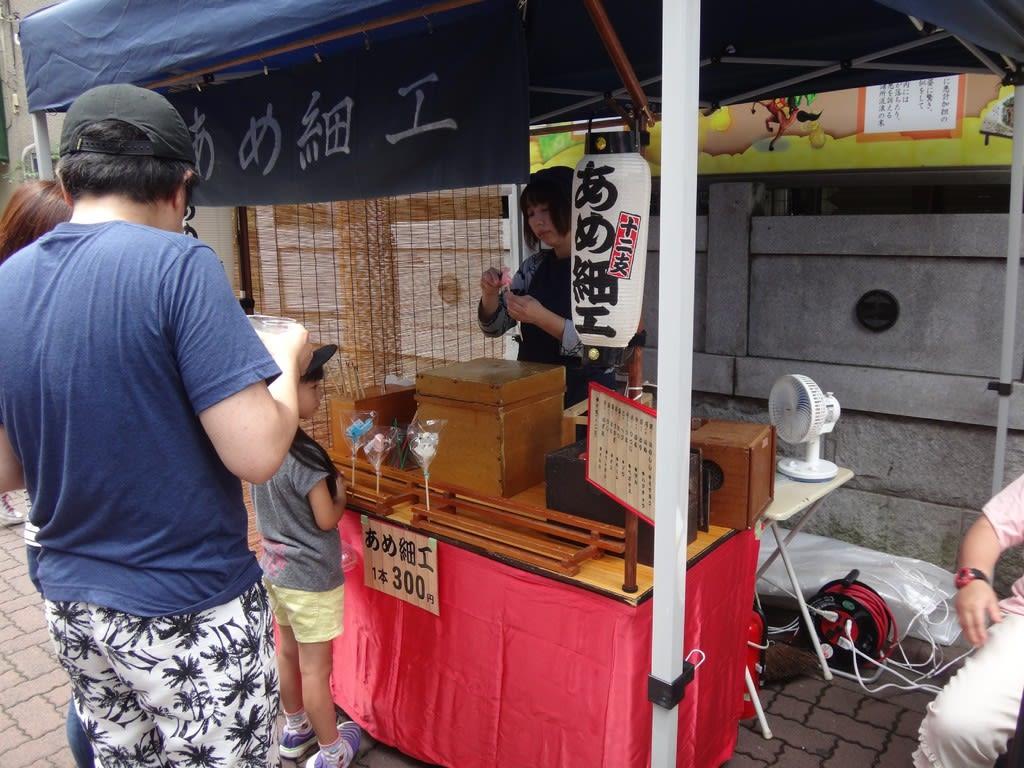 武蔵新田七夕縁日(多摩川マルシェ)