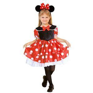 RUBIE'S(ルービーズ) DISNEY(ディズニー) コスプレ Child Minnie(ミニー) Mサイズ