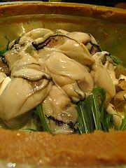 牡蠣の土手鍋? (2)