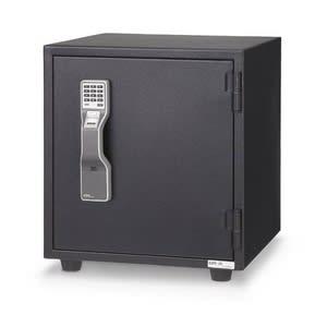 エーコー 耐火金庫 指紋照合式 MSFE-BB 55kg 【代金引換可能】【時間指定可能】