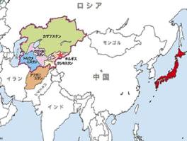 安倍首相 中央アジア歴訪 - 厚も...