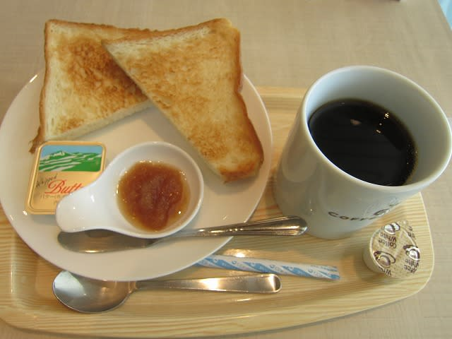 千葉県産ジャムとトースト+ブレンド