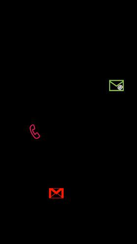 通知アイコンの表示状態