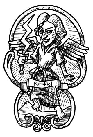 天使バラキエルのイラスト