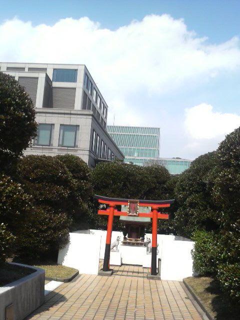 屋上の神社
