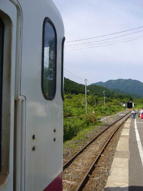 キハ40系@三厩駅