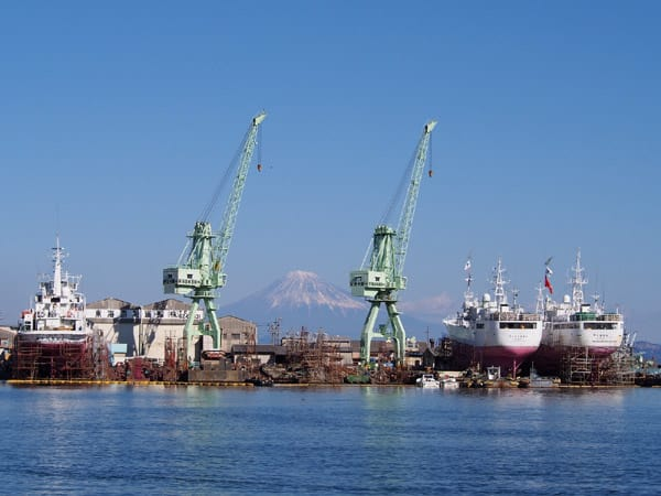 小川港の富士3