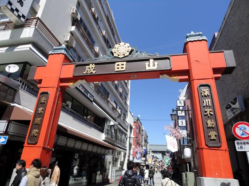 03月27日 深川不動堂の門