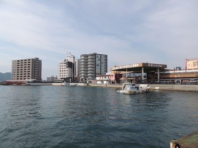 時折 紹介 して いる 厳島 港 の ...