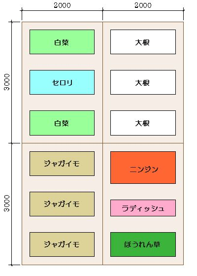 no.2 作付計画2005
