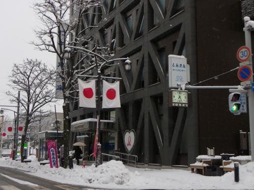 松本市 降雪