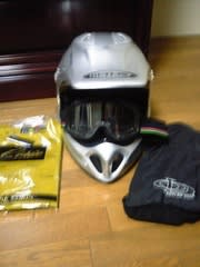 コーリン:オフロード用ヘルメット¥6090