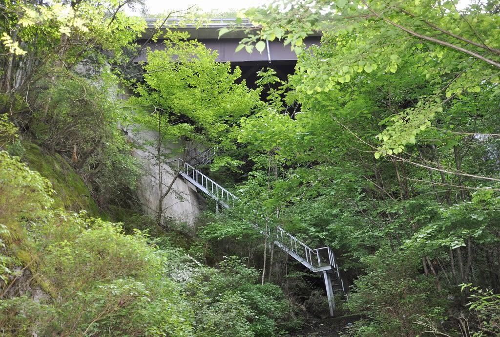 大曲滝階段