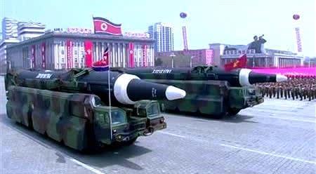 新型 ミサイル【岩淸水・北朝鮮軍 装備】