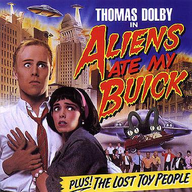 トーマス・ドルビー 「Aliens Ate My Buick」\'88 - こころとからだがかたちんば