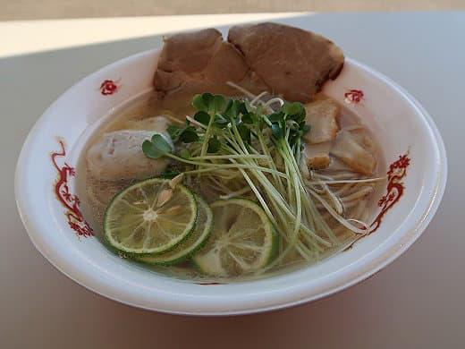 麺FACTORY JAWS×麺のようじ・鴨と魚介の松茸らーめん