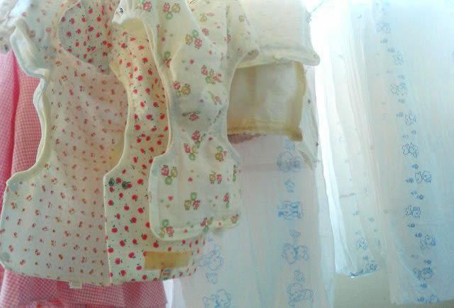 赤ちゃんの布おむつ おむつカバ-保存館