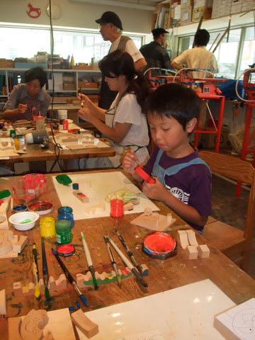 有馬玩具博物館 夏休み工作教室