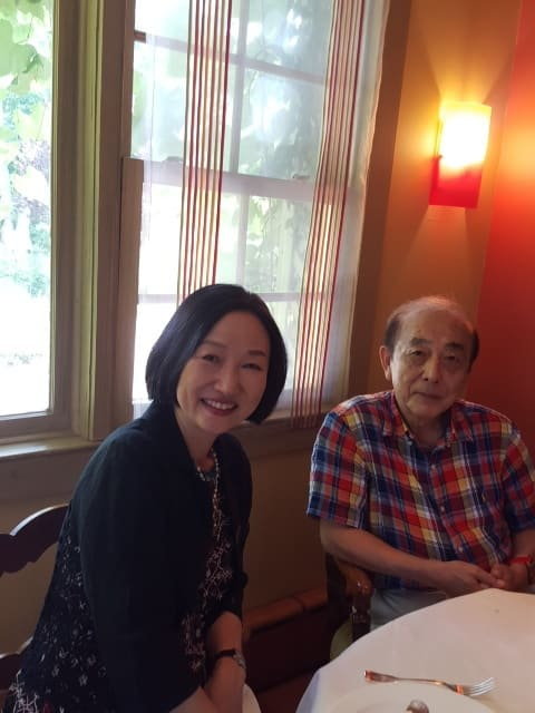 松野博士とオレンジ色のムスタング