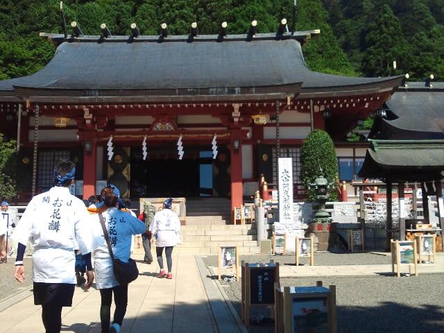 大山・阿夫利神社の山開き