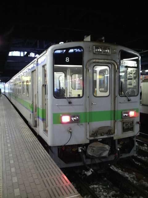 キハ141@札幌駅