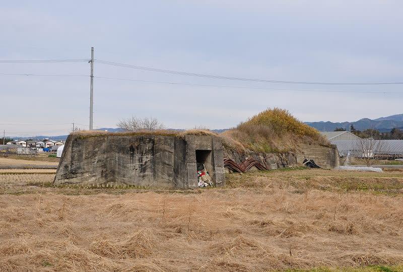 北側の防空壕