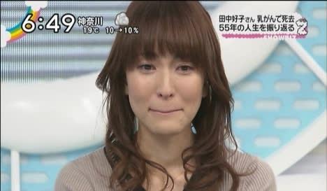 泣き顔の鈴木杏樹