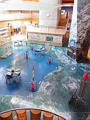 洞爺湖ビジターセンター 館内